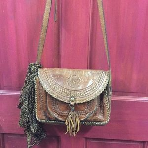 Patricia Nash crossbody bag 10x7x2,25""